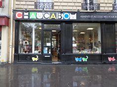 Paris pet store