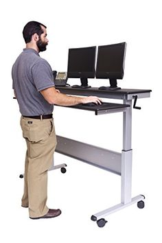 25 best sit to standing desks images sit to stand stand up desk rh pinterest com