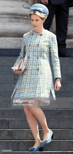 (EMBARGOED FOR PUBLICATION IN UK NEWSPAPERS UNTIL 48 HOURS AFTER CREATE DATE AND TIME) Serena, Viscountess Linley attends a national service of thanksgiving to mark Queen Elizabeth II's 90th birthday at St Paul's Cathedral on June 10, 2016 in London, England. (Photo by Max Mumby/Indigo/Getty Images)