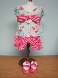 New American Girl Bitty Baby Cottage Rose Outfit Retired Bitty Baby Clothes, Rose Cottage, American Girl, Baby Dolls, Summer Dresses, Crafts, Outfits, Ebay, Ideas