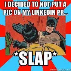SLAP! recruiter memes #LinkedIN