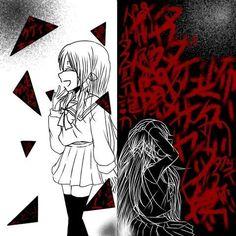 Vc esconde o que é de verdade pois, ninguém vai perguntar se vc tá bom.... Demon Stories, Male Yandere, Horror Drawing, Emo Art, Sad Anime Girl, Arte Obscura, Sad Pictures, Dark Thoughts, Dark Anime