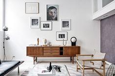 Scandinavian loft living room