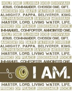 Names of God. <3 <3