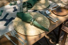 African Safari, Tanzania, Old World, Table Settings, Place Settings, Tablescapes