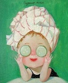 cucumber mask :3