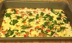 Clean Eating Egg White Casserole