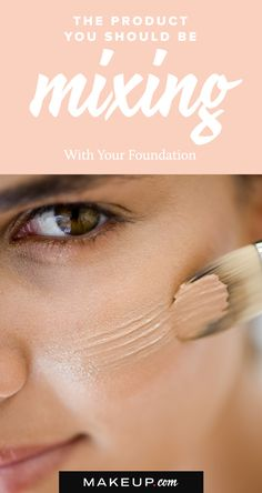 Why You Should Mix Highlighter With Your Foundation