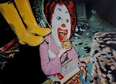 Original Pop Culture/Celebrity Painting by Stefan Doru Moscu Contemporary Artists, Romania, Online Art, Buy Art, Oil On Canvas, Fairy Tales, Art Gallery, Princess Zelda, Culture