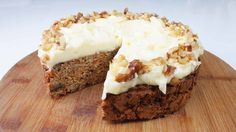 A delicious low carb treat that you don't have to feel bad about! Enjoy your guilt free, low carb carrot cake with a cup of tea and some friends.