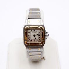 761b2ffc64a2 Reloj CARTIER SANTOS GALBEE 1057930 de segunda mano. Reloj de dama en  EXCELENTE estado con