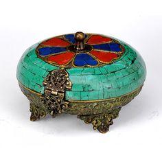 Tibetan Jewerly  Box