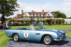 Chewton Glen & Classic car