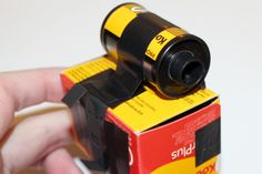 Amazing DIY-photography project by our user lostlittlekid: Making a Film Box Pinhole Camera!