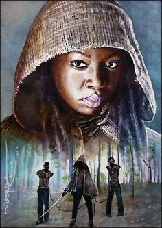 Michonne by David Deb on Deviant Art