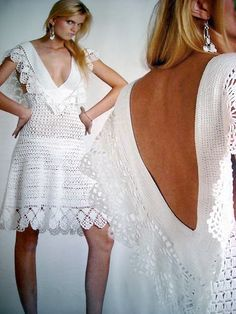 Vestido de Crochê -