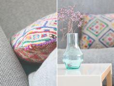cojín de inspiración marroquí. moroccan cushion atlas. dar amïna shop