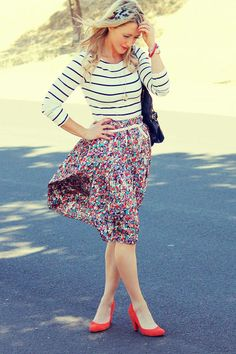Every week she has style crushes. Little does she know, we are all secretly crushing on her style! www.gbofashion.com