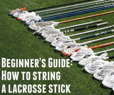 These instructions are for men's lacrosse heads that include the three field positions: Attack, Midfield, and Defense. (Sorry goalies I personally have never. Lacrosse Sport, Lacrosse Quotes, Lacrosse Gear, Girls Lacrosse, Basketball Quotes, Women's Basketball, Lacrosse Backpacks, Goalie Stick, Softball Problems