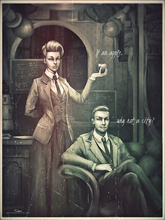 Bioshock Infinite. I do not play Bioshock, but I like the concept of the characters.