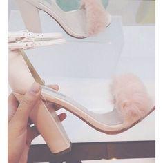 RABBIT Faux Fur Fluffy Sandals - Topshop