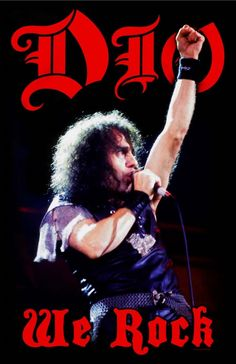 Dio - We Rock Poster