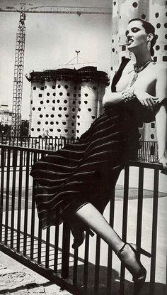 Shot by Helmut Newton for Vogue Paris, August 1978