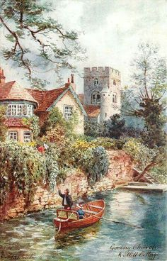 Goring, England... Pete Townshend built a house here.