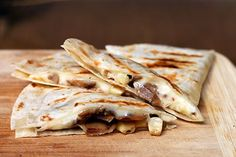 Campfire Mushroom and Corn Quesadillas YIELD 4 quesadillas PREP TIME 5-30 minutes, depending on your ingredients COOK TIME about 5 minutes A...