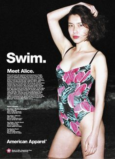 Nice and sexy. Put On, American Apparel, Passion For Fashion, Bathing Suits, Swimsuits, Swimming, Advertising, Ads, One Piece
