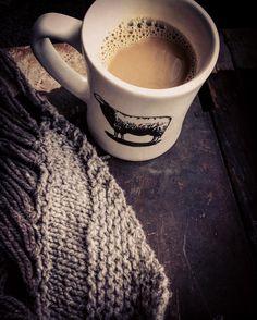 Monday Mornings  CoffeeMy Farmhouse ShawlA Snowy View  #mondays #farmhouse  #snowdays  #rustic #knittersofIG #farmhousestyle #farmhouseshawl #mysecondskin #coffee #snowyview #adoremycupofcoffee @toltyarnandwool (mug) @_cabinfour (shawldesign) #vintagechest #slowdays #coldmornings  @quinceandco #TweetOwl by tinabreit