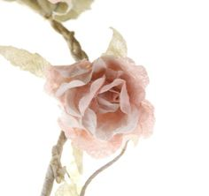 Vintage Chic Rose Flower Garland in Pale Pink *Shabby Chic Wedding Decoration* in Home, Furniture & DIY, Home Decor, Dried & Artificial Flowers | eBay!
