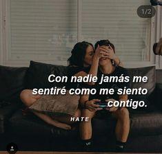 🎈☆Sigueme como Mïldrëd Røjäs.☆🎈 Boy Best Friend, Best Friends, Sad Love, I Love You, Roman Love, Tumblr Love, Love Phrases, Spanish Quotes, Romantic Quotes