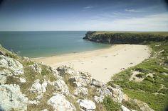 Barafundle Bay, Pembrokeshire, Britain