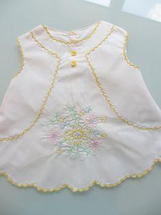Vintage Baby Dress Size New Born by MemphisNanney on Etsy
