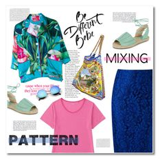 """""""pattern mix master"""" by limass ❤ liked on Polyvore featuring Martha Medeiros, Uniqlo, F.R.S. For Restless Sleepers, Dolce&Gabbana, New Look and patternmixing"""
