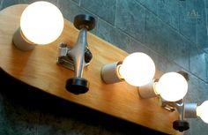 "Skateboard  Bathroom Vanity Lighting Fixture. Wall lamp. 31"""