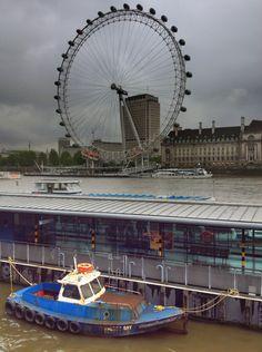 London Eye (London Eye) - Londres, Reino Unido (London, UK) - iPhone 4S & HDR Pro Copyright © Juan Hernandez Orea