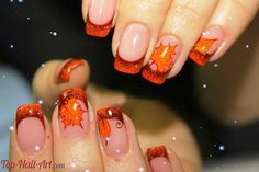 Cute fall nails