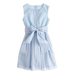 J.Crew - Girls' organdy bow dress