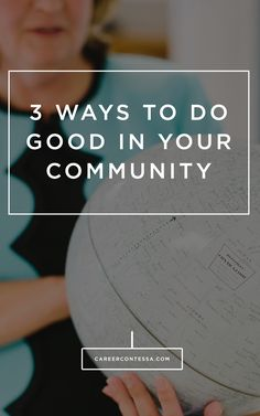 If you want to do good in your community and really see an impact with your work, follow our 3 tips to balancing your passion with your day-job. #DoGood #Service #Volunteer #CareerAdvice #WorkLifeBalance #Philanthropy