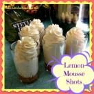 Lemon Mousse Shots ~ The Perfect Summer Dessert!