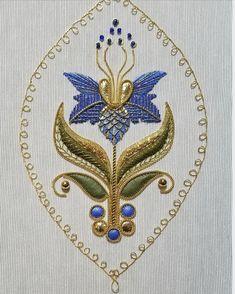 Goldwork, Needlework, Brooch, Embroidery, School, Crafts, Jewelry, Silver, Craft Work