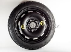MINI OEM Spare Tire for 2014+ F55 F56 MINI Cooper and Cooper S. If you have ditched the runflat tires and are nervous to not have a spare tire this is the most cost effective solution. This is a factory MINI steel donut with the 5x114 bolt pattern and measures approx 22 inches in diameter. It is lighter and smaller than carrying a full size wheel. <br /%3...