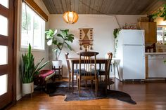 Get the Look: Authentic Mid-Century Bohemian Style — I want those chairs for my new table!!!!!!!!!!!!!