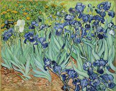 Van Gogh, 'Los lirios' (1889).