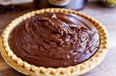Whenever my husband, the strapping stallion I call Marlboro Man, imagines chocolate pie—and I imagine that he imagines it frequently, because it's one of his favorite desserts—he doesn't think of Fren