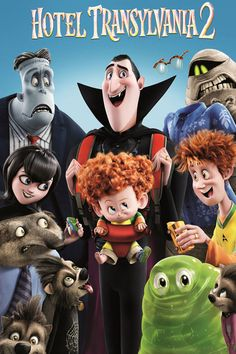 Watch Hotel Transylvania 2 2015 Full Movie Online Free