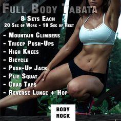 Full Body Tabata Workout