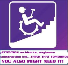 If only City planners, engineers and architects thought of this.  #DisabilityAdvocacy #DisabilityRights